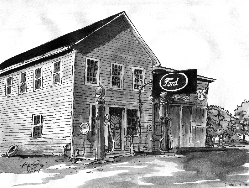 Old Ford Motor Company in Sneedville, TN