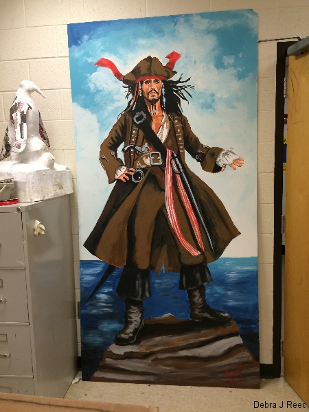 Captain Jack Sparrow Alights