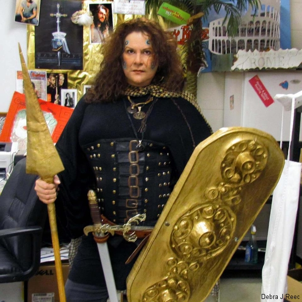 Viking Yourself but as Boudicca (Shouldn\'t that be Celt Yourself?)