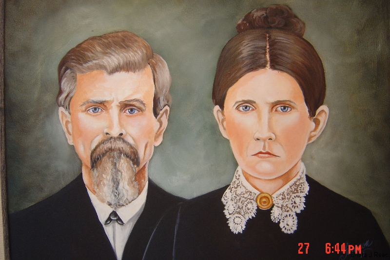 Andrew Jackson & Millie Bray Russell