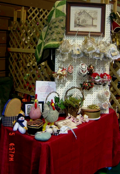 Craft Booth in Greeneville