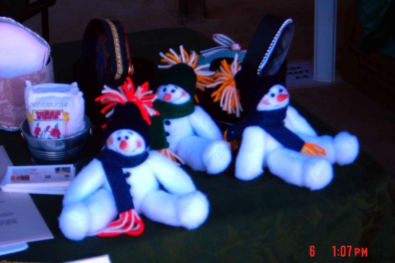 Happy handmade Snowmen