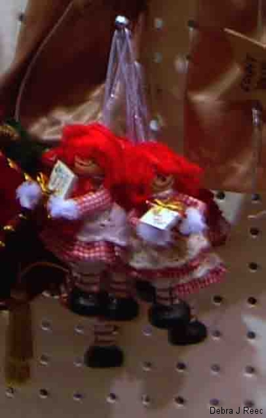 Raggedy Ann Christmas Ornaments