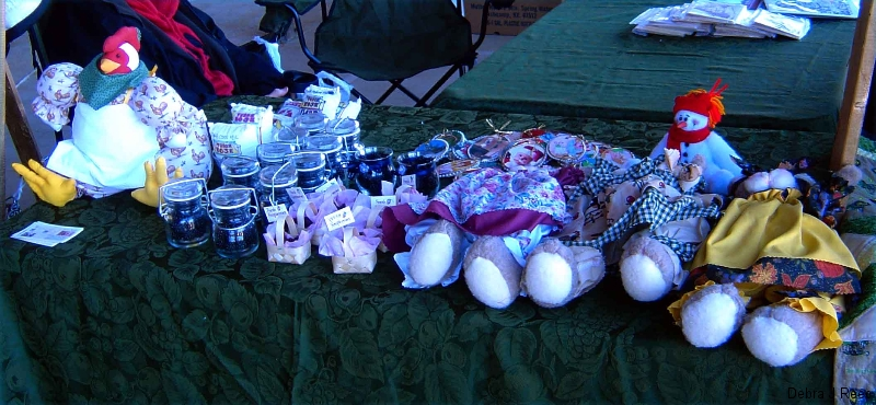 Craft items Bristol Tennessee Christmas Craft Show