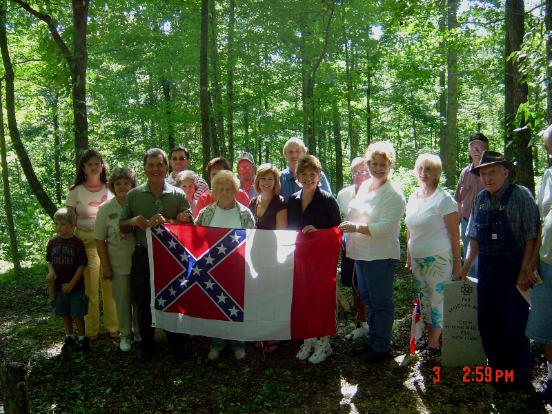 Sons of the Confederacy Ceremony for Jackson Russell & Stogner Bray
