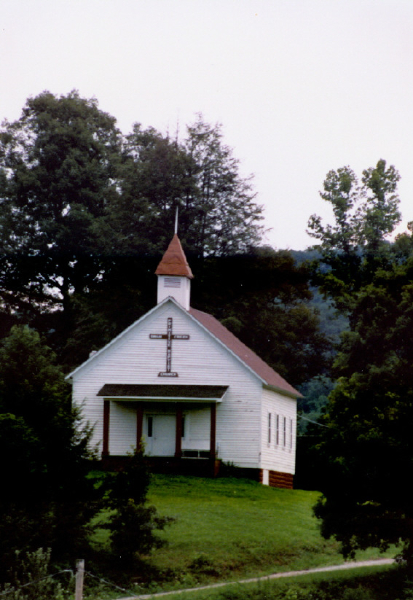 Swan Creek Primitive Baptist Church built 1879