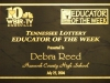 Debra J Reed WBIR Channel 10 Educator of the Week