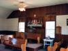 Inside Swan Creek Primitive Baptist Church built 1879