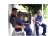 Preacher Curt Reed & Clay Shockley Holding Painting