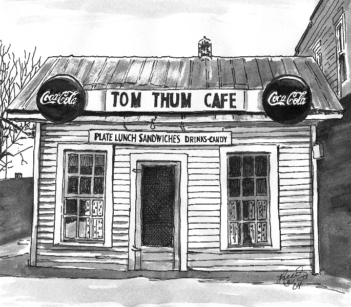 Tom Thumb Cafe Sneedville, Hancock County Tennessee 1950\'s