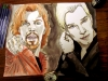 Diogenes & Aloysius Pendergast portrayed by Benedict Cumberbatch!  Study 1